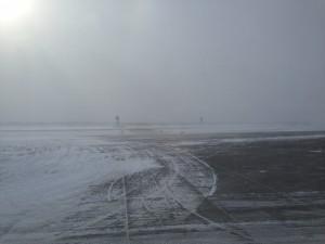 barren runway